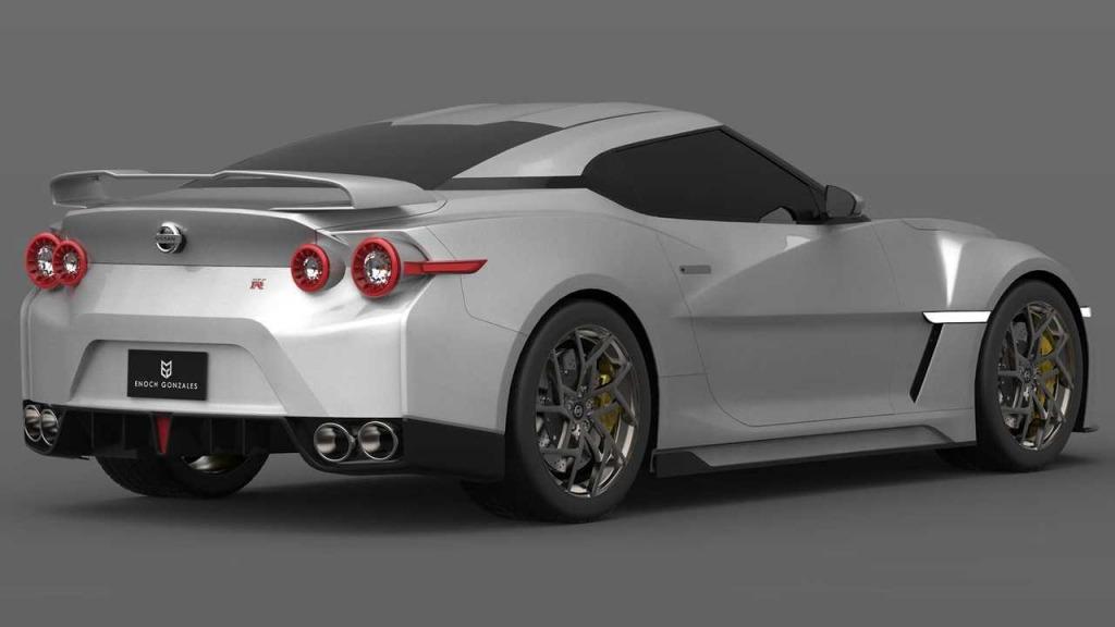 2023 Nissan GTR Spy Photos