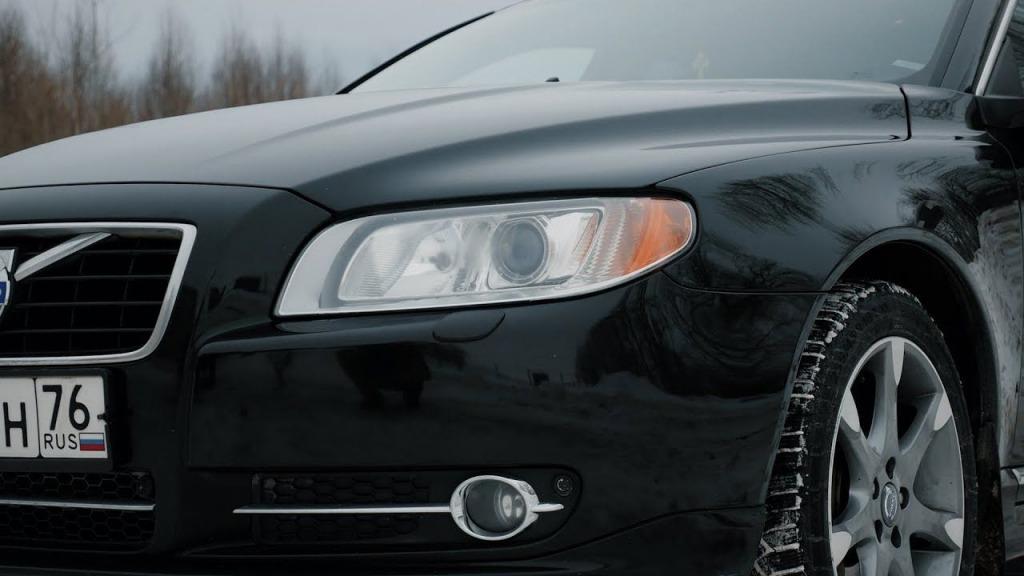2023 Volvo S80 Spy Shots