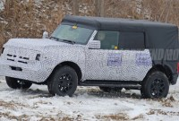 2023 Ford Bronco Spy Photos