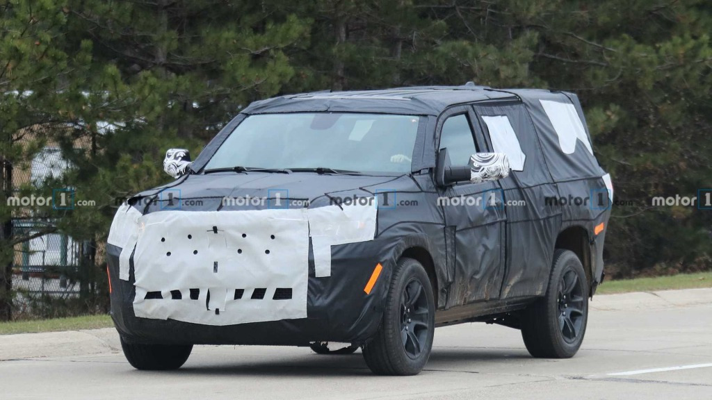 2023 Jeep Liberty Spy Shots