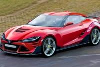 2023 Toyota Supra Spy Shots