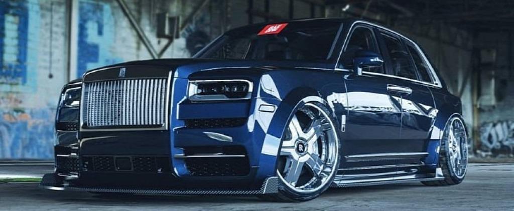 2022 Rolls Royce Cullinan Spy Photos