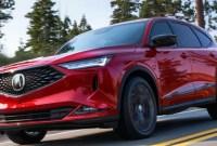 2023 Acura MDX Release date
