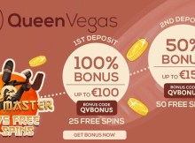 queen vegas free spins