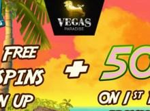 Vegas Paradise no deposit