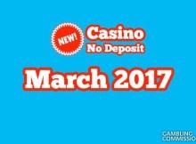 new casino march 2017