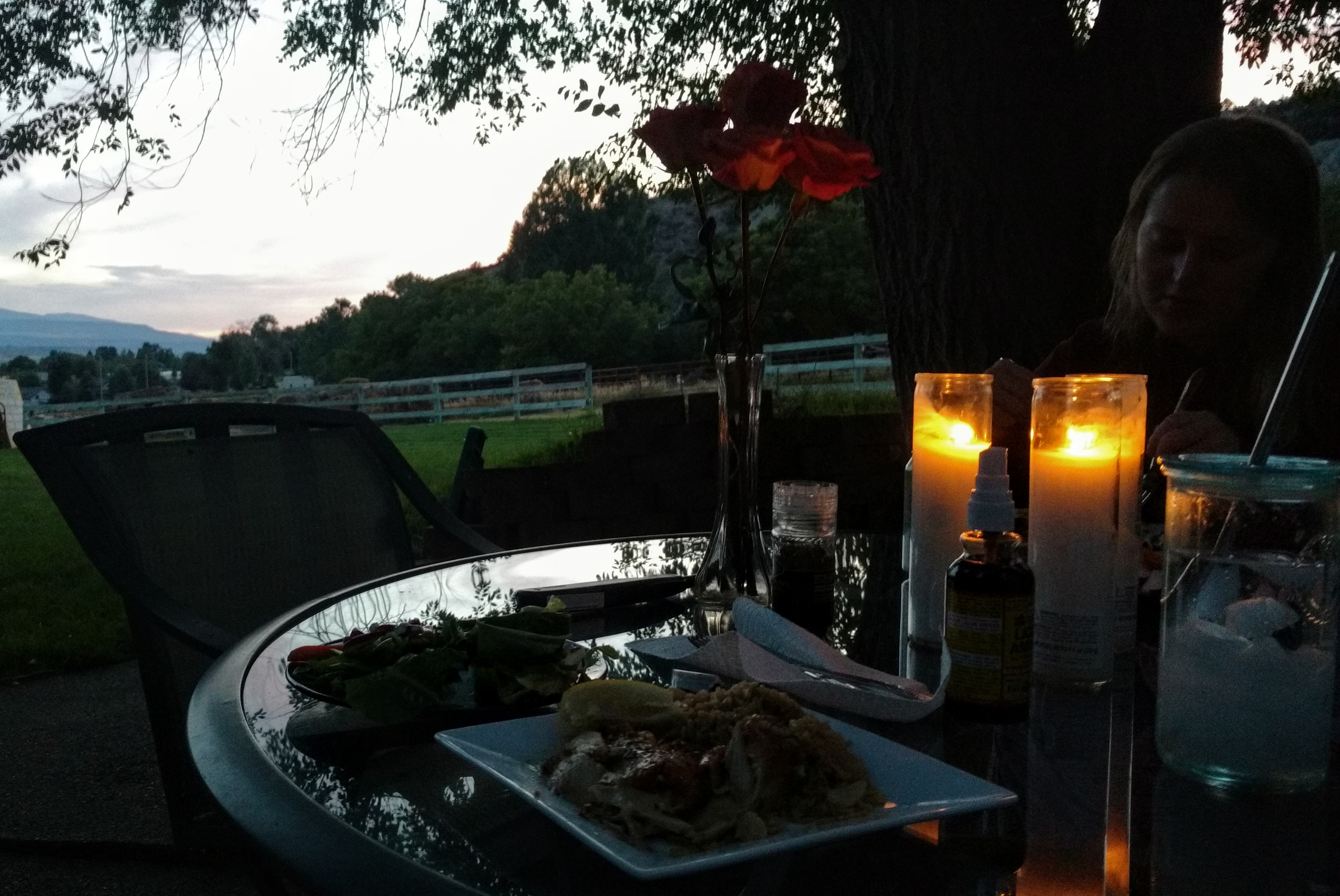 Dinner with a View of Peach Valley