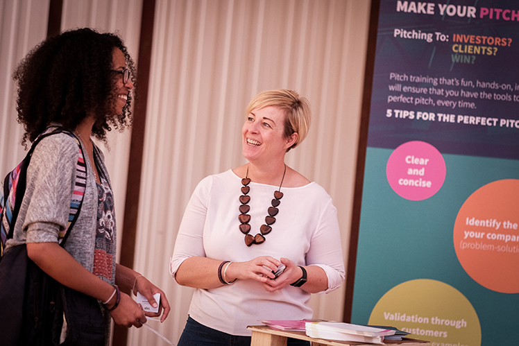Networking at Newcastle Startup Week