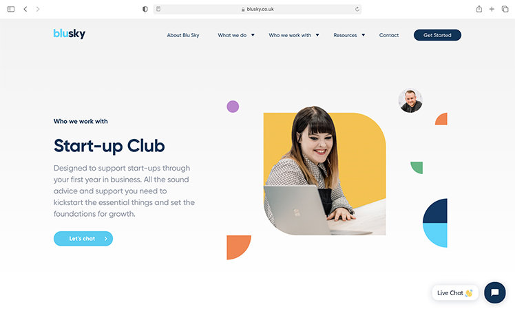 Join the Blu Sky Start-up Club