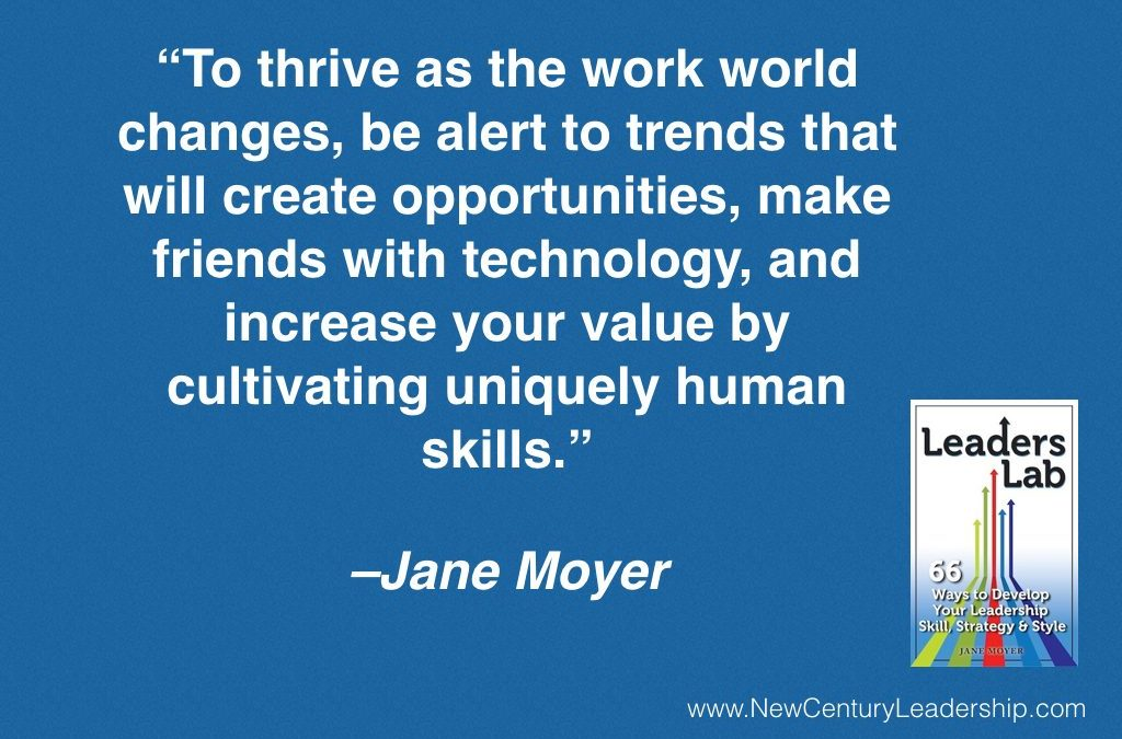 Career Planning for a Technology-Enabled World