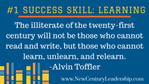 Learning is the Most Important Skill for Success in the 21st Century