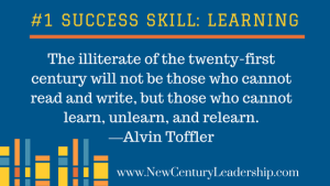Learning is the Top Skill for Success in the 21st Century