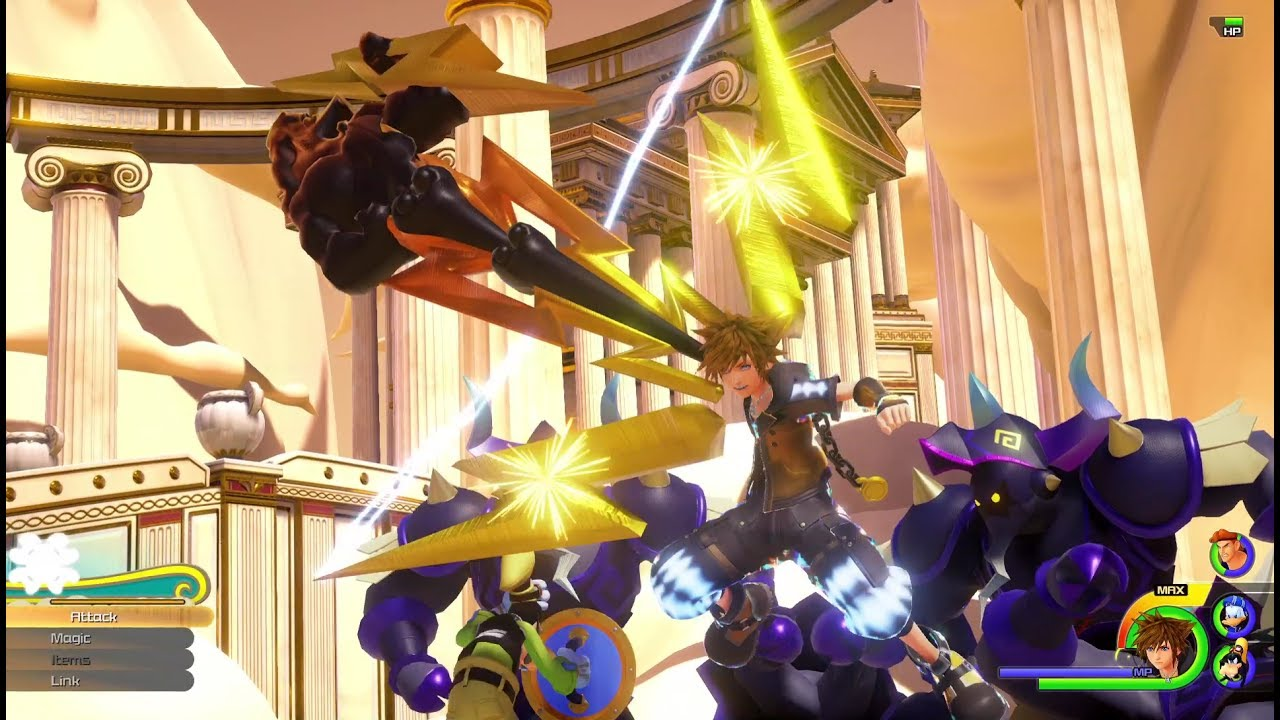 New Trailer for Kingdom Hearts III Brings the Crew to Olympus