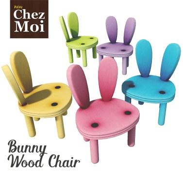Bunny Wood Chair CHEZ MOI