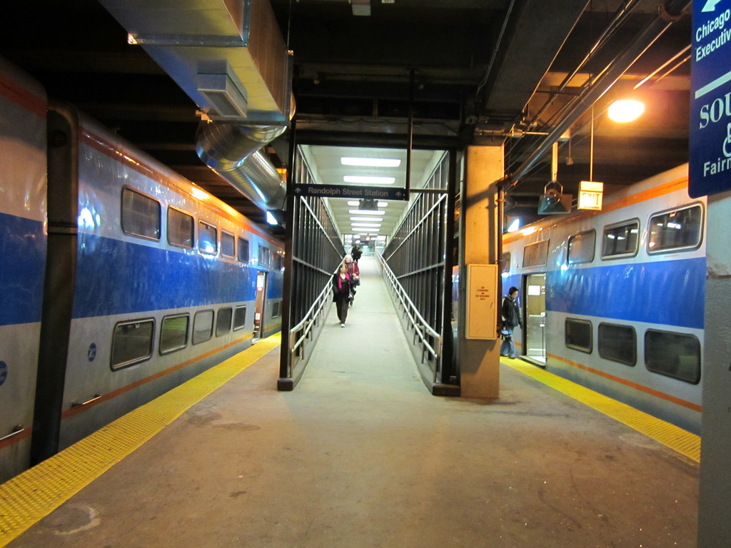 Chicago Pedway Map on