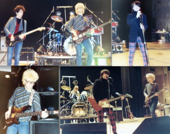 U2 at U Chicago, April 11, 1981/Photos: Paul Sandberg