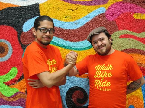 Alex Velazquez and Ray Arroyo. Photo: Active Trans