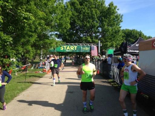 Runners cross the finish line at The Original 5K/Photo: Zach Freeman