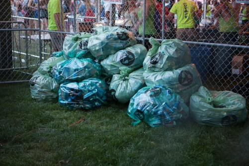 Rock & Recycle/Photo: Lollapalooza