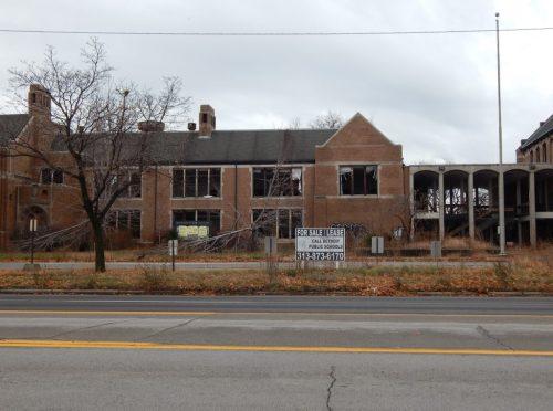Closed Southwestern High School/Photo: David Kukier