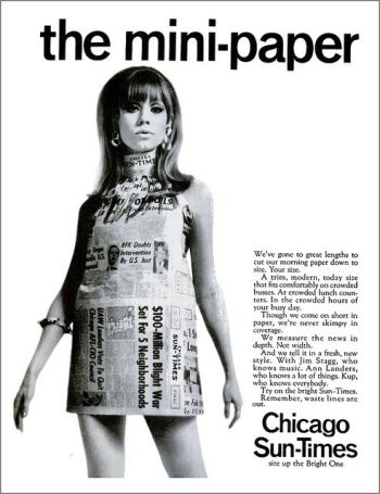 This ad from the sixties has a brash spunk the Sun-Times would be smart to bring back.