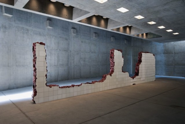 Inside Adriana Varejao's solo pavilion, 2008. photo: EEckenfels