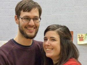 Richard and Claire, the new homegroup leaders