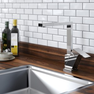 Contemporary Amaretto Easy Fit Sink Mixer Taps from Bristan