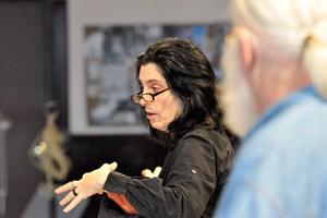 Tina Landau and Frank Galati/Photo: Mark Campbell