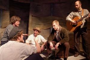 Jared Fernley, Stephen Dunn, John Zimmerman, Wes Clark and Ian Knox/Photo: Allen Rein