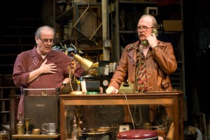 "Morton is directing Francis Guinan and Tracy Letts in Steppenwolf's production of David Mamet's ""American Buffalo""/Photo: Michael Brosilow"