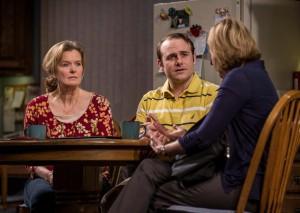 (l to r) Jordan Baker, Richard Thieriot and Mary Beth Fisher/Photo: Liz Lauren