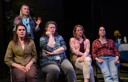 Amy Johnson,      Amanda Lipinski, J. Kingsford Goode, Julia Daubert, Kirsten D'Aurelio/Photo: Scott Dray