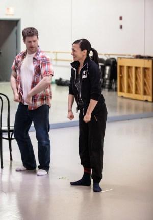 Joey Bland and Robyn Mineko Williams