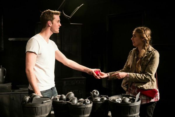 (L to R) Will Kiley as Tom and Kristen Johnson as Jenny/Photo: Justin Barbin