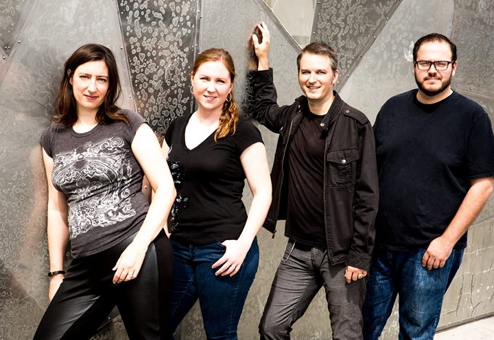 Helix Collective:  Sarah Robinson (flute), Katie Norring (piano), Phil Popham (oboe), and Lorry Black (percussion)