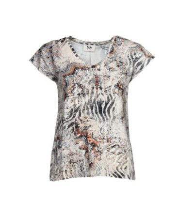 Karma-V-Neck-T-Shirt-J61-Uda-Print