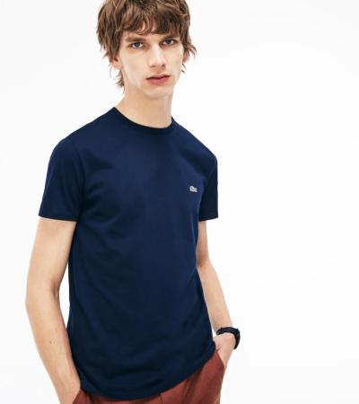 Lacoste t-shirt blauw TH6709-166