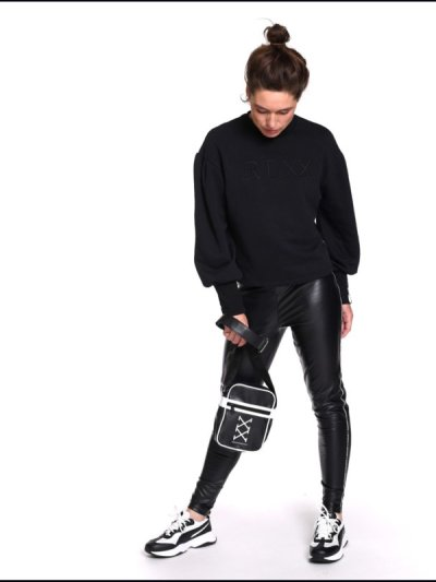 Sneakerdresses sweater roundneck 21AW027Black