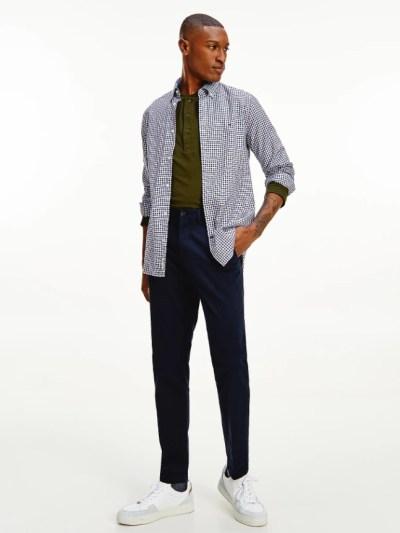 Tommy Hilfiger overhemd MW0MW205510MS donkerblauw heren