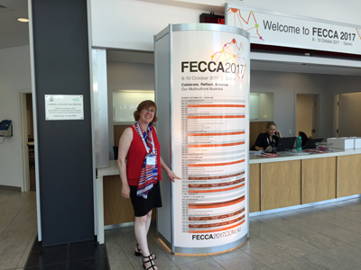 Sue Ellson at FECCA Conference in Darwin