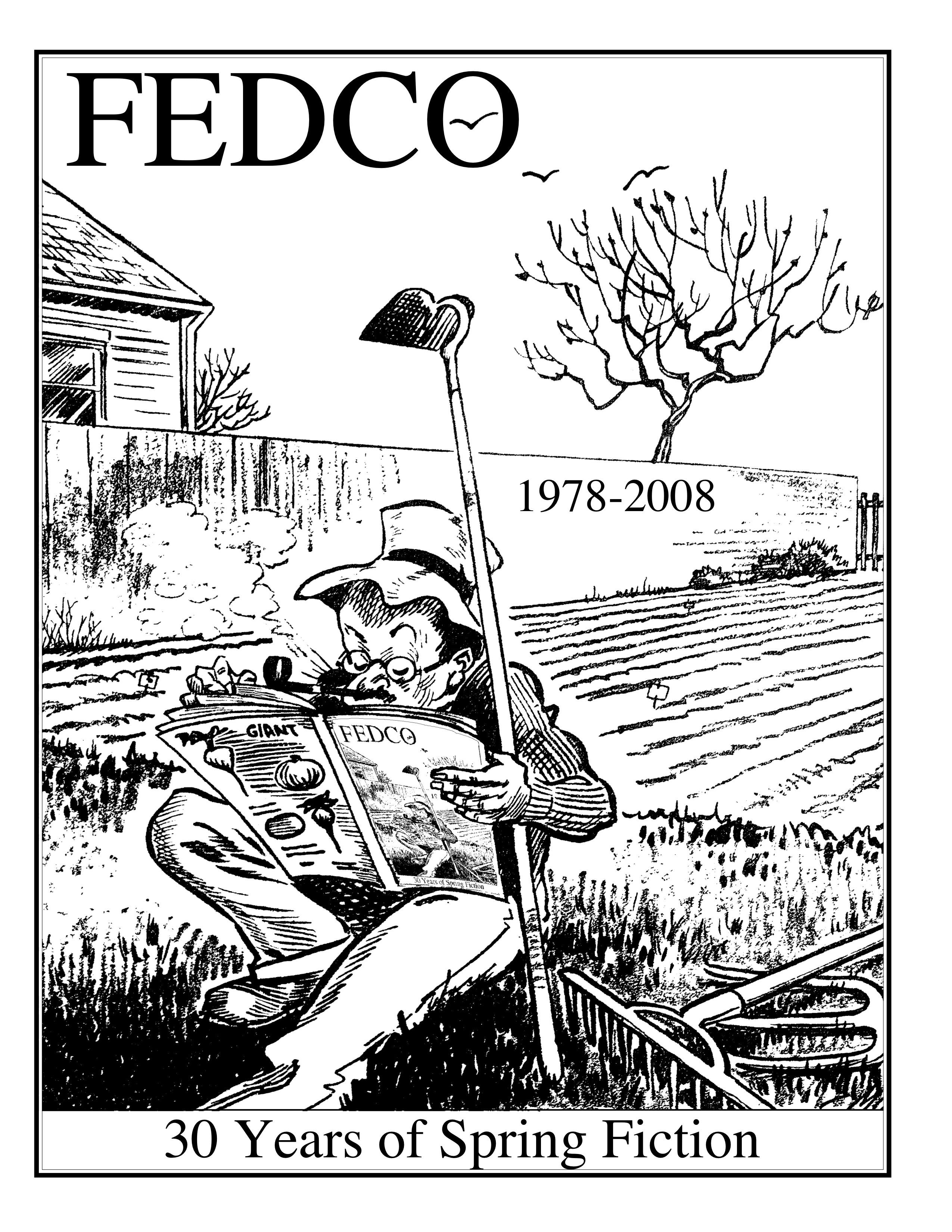 Exhibit of the FEDCO SEED CATALOG (Farmington)