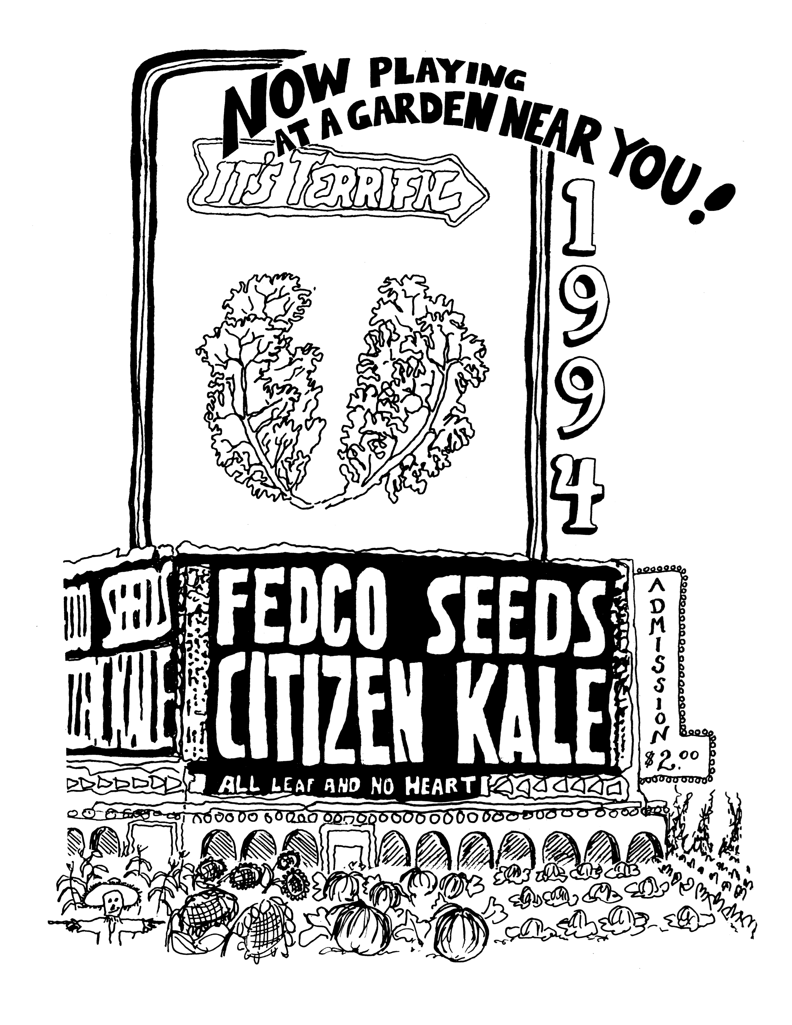 """""""Exhibit of the FEDCO SEED CATALOG (Phillips)"""" is locked Exhibit of the FEDCO SEED CATALOG (Phillips)"""
