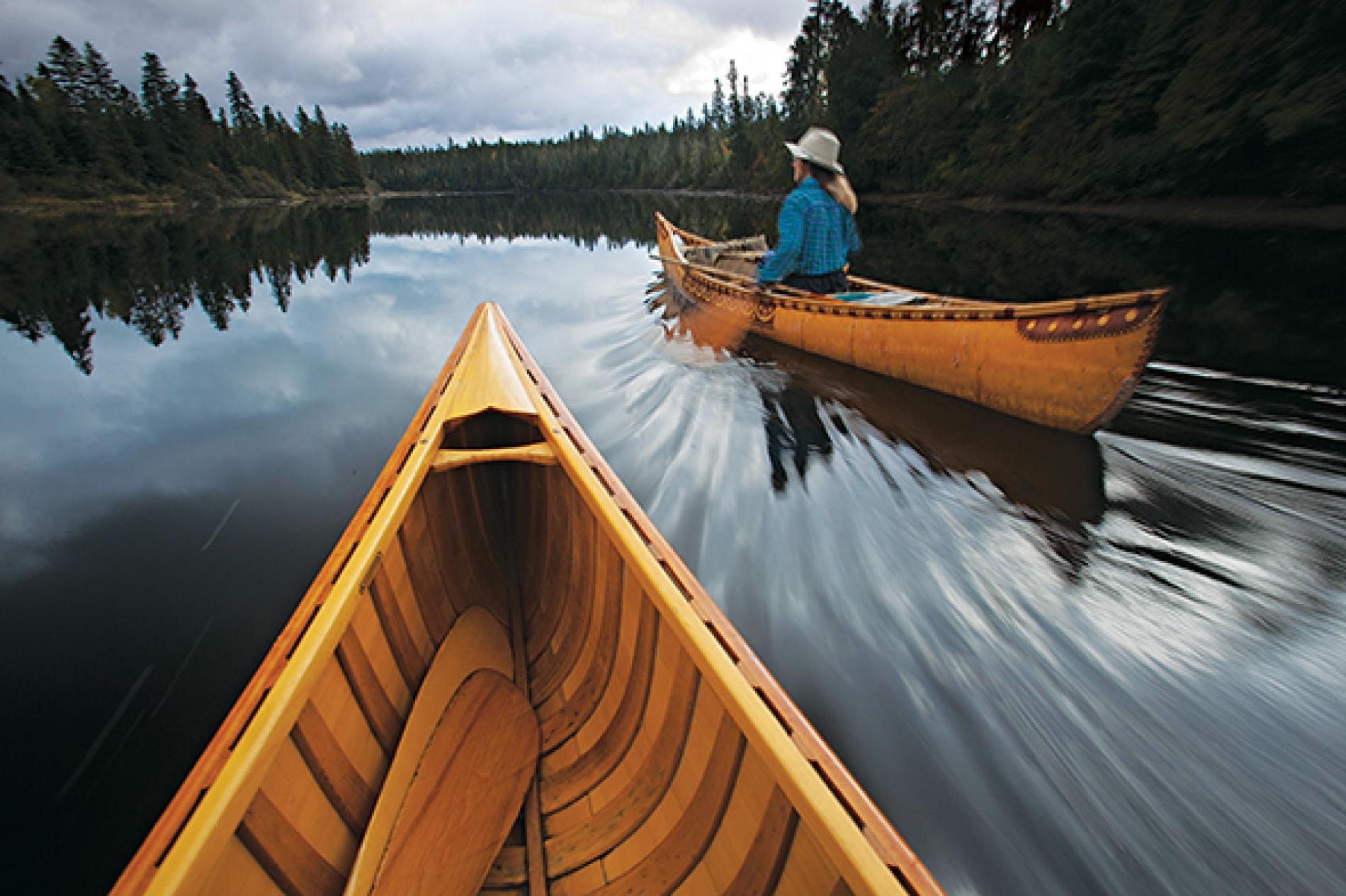 Canoe Paddle and History
