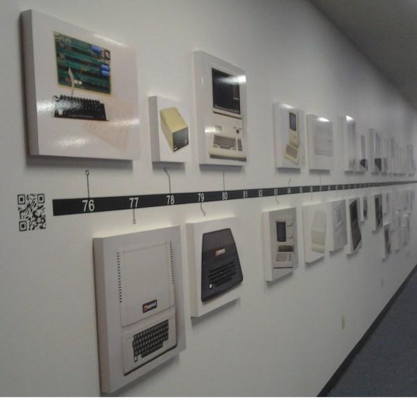 Computer Museum of America, Apple Timeline