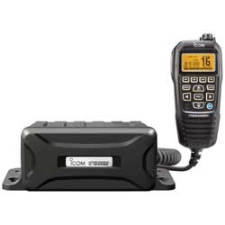Black Box DSC VHF Radio—Black CommandMIC IV (West Marine) Image