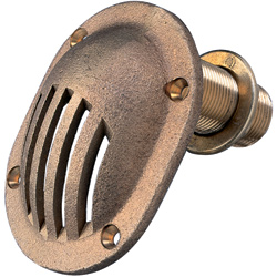 Groco Bronze Thru Hull Intake Strainers West Marine