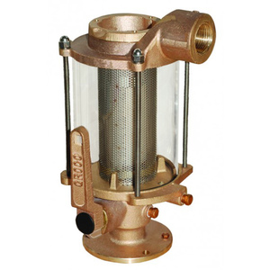 Groco Bronze Seacock And Strainer Combination West Marine