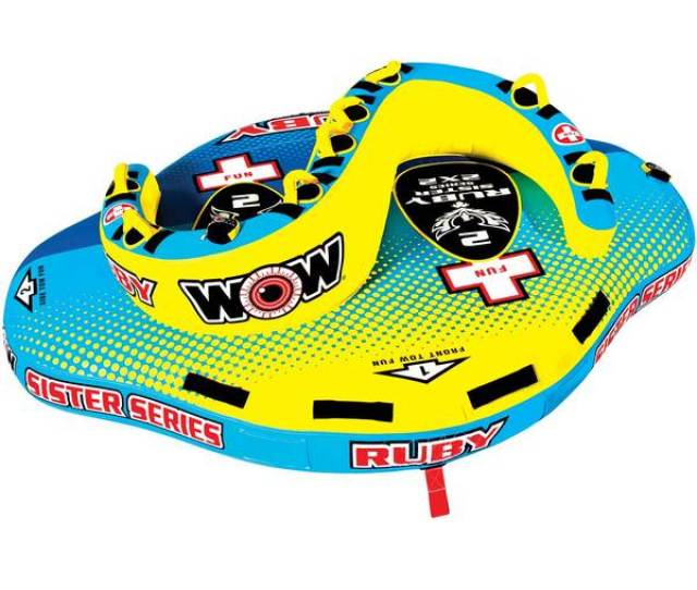 Wow Sports Ruby Sister Series 2 Person Towable Tube