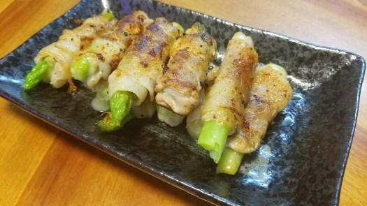 Asparagus Pork Roll recipe